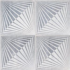 Allure Blade Beige Diced Marble Tiles 25,4x25,4