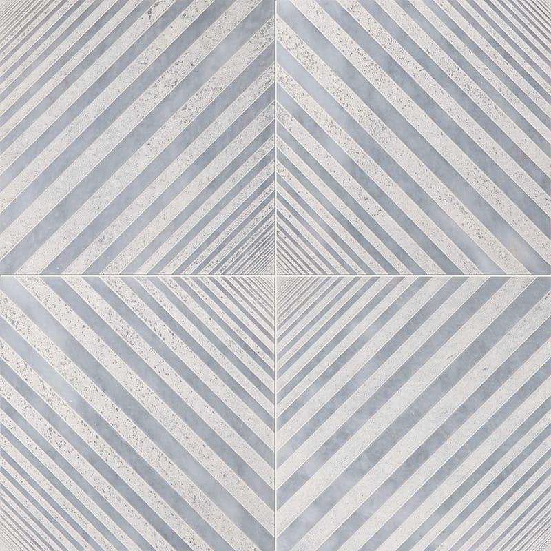 Allure Deep Beige Diced Marble Tiles 25,4x25,4