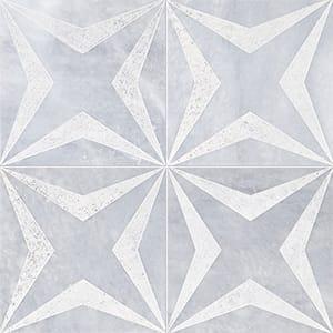 Allure Stars Beige Diced Marble Tiles 20,3x20,3