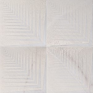 Fantasy White Mad1 Beige Diced Marble Tiles 25,4x25,4