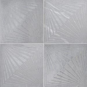 Allure Blade Gray Diced Marble Tiles 25,4x25,4