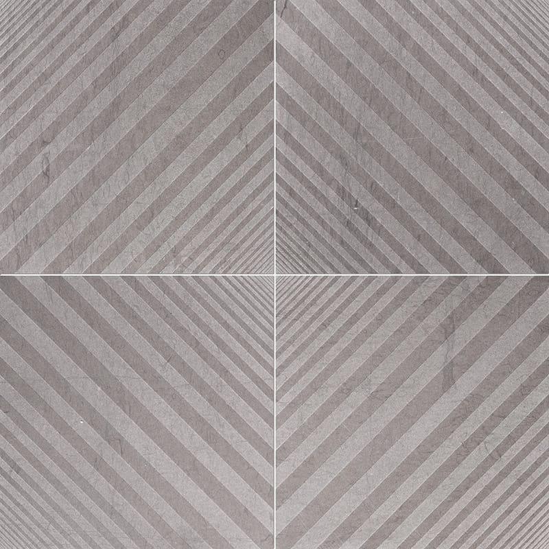 Bosphorus Deep Brown Diced Limestone Tiles 25,4×25,4