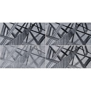 Allure A22 Black Diced Marble Tiles 20,3x20,3