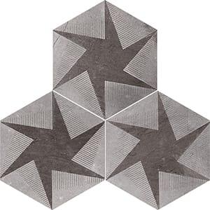 Bosphorus Rotation Brown Diced Limestone Tiles 20,3x20,3