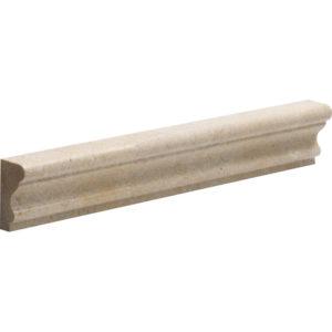 Seashell Honed Andorra Limestone Moldings 5x30,5