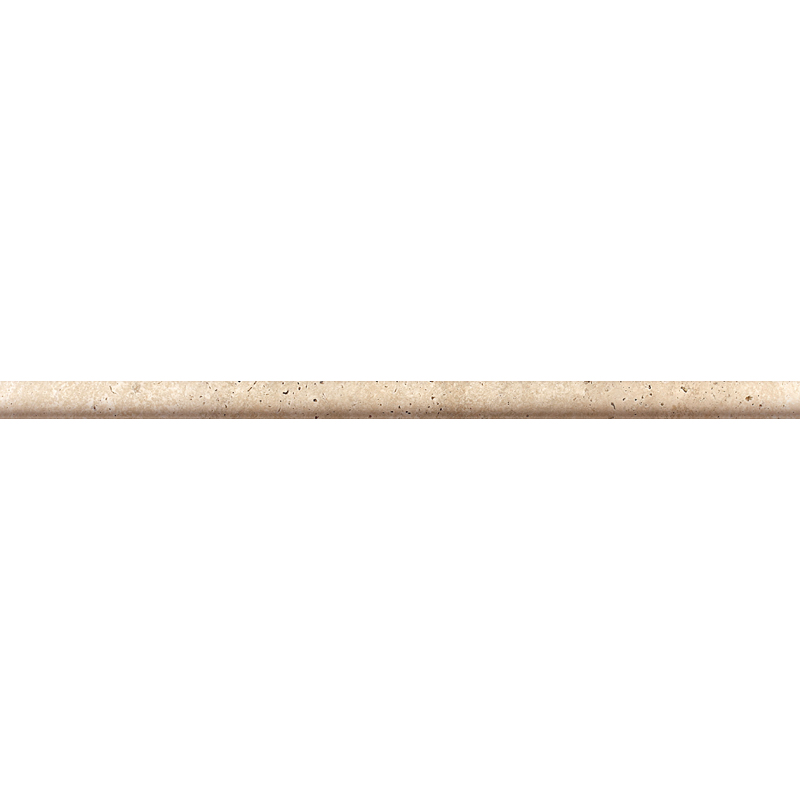Canyon Honed&filled Pencil Liner Travertine Moldings 1,27x30,5