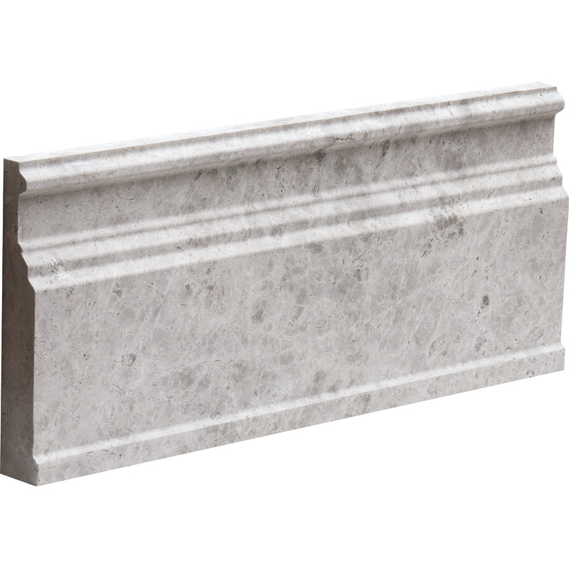 Silver Shadow Honed 12x30,5 Base Marble Moldings