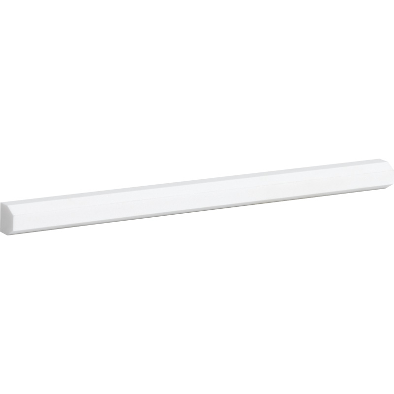 Aspen White Honed 1,8x30,5 Pencil Liner Marble Moldings