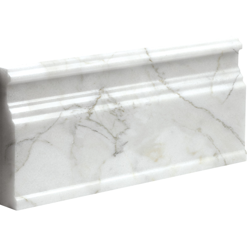 Calacatta Gold Polished Base Marble Moldings