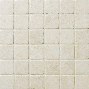 Seashell Tumbled 5x5 Limestone Mosaics 30,5x30,5