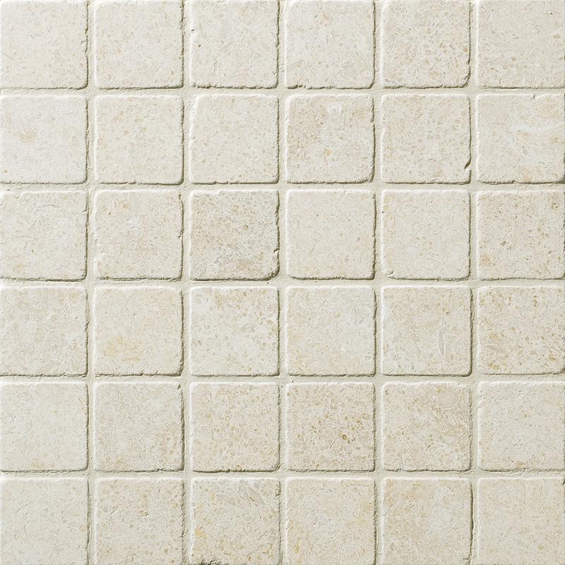 Seashell Tumbled 2×2 Limestone Mosaics 30,5×30,5