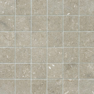 Olive Green Honed 5x5 Limestone Mosaics 30,5x30,5