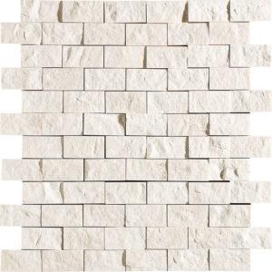 Desert Cream Rock Face 2,5x5 Marble Mosaics 32x32