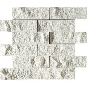 Champagne Rock Face 5x15,2 Limestone Mosaics 30,5x30,5