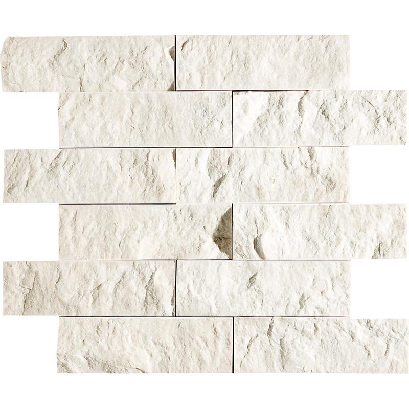 Desert Cream Rock Face 30,5x30,5 2x6 Marble Mosaics