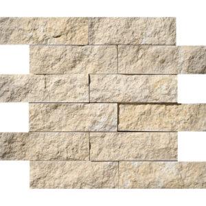 Seashell Rock Face 5x15,2 Limestone Mosaics 30,5x30,5