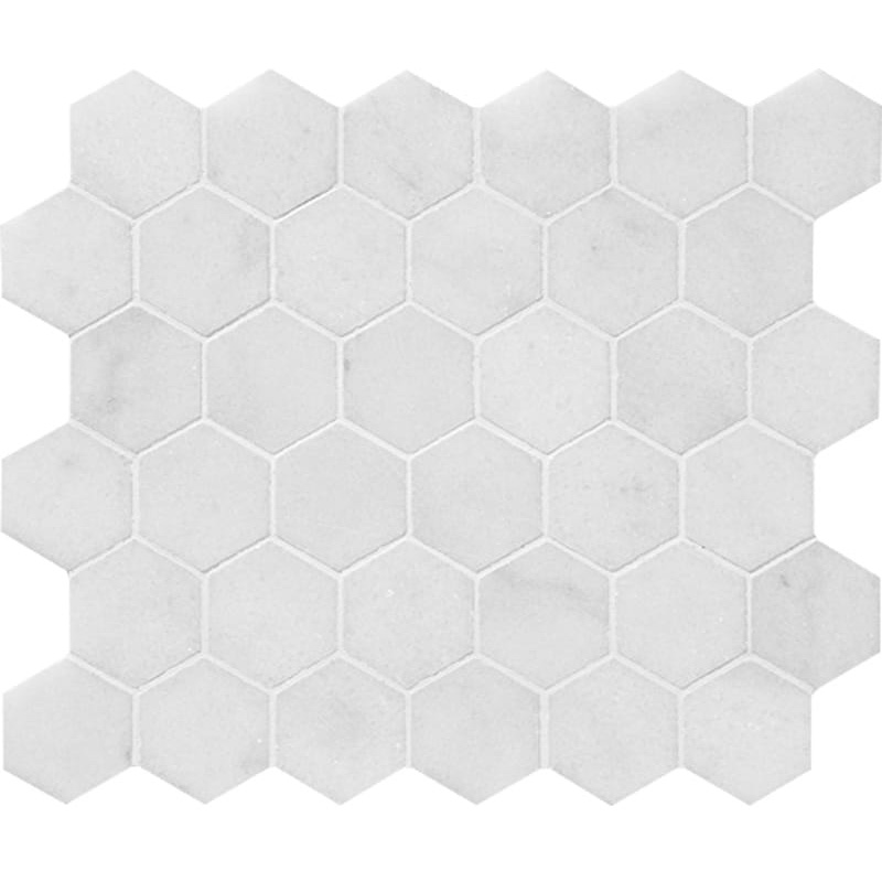 Avalon Polished 26,5x31 Hexagon Marble Mosaics