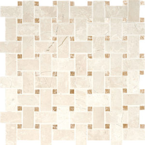 Princeton&paradise Polished Basket Weave Marble Mosaics 30,5x30,5