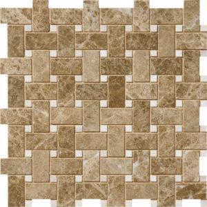 Paradise&princeton Polished Basket Weave Marble Mosaics 30,5x30,5