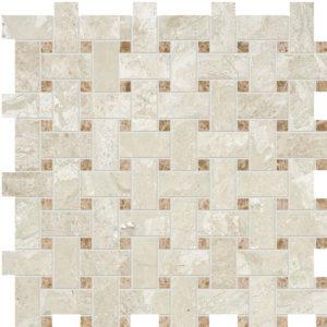 Diana Royal&paradise Polished Basket Weave Marble Mosaics 30,5x30,5