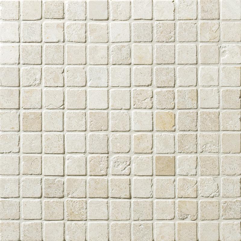 Seashell Tumbled 2,3×2,3 Limestone Mosaics 30,5×30,5