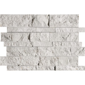 Silver Shadow Split Face Slides Marble Mosaics 28x43