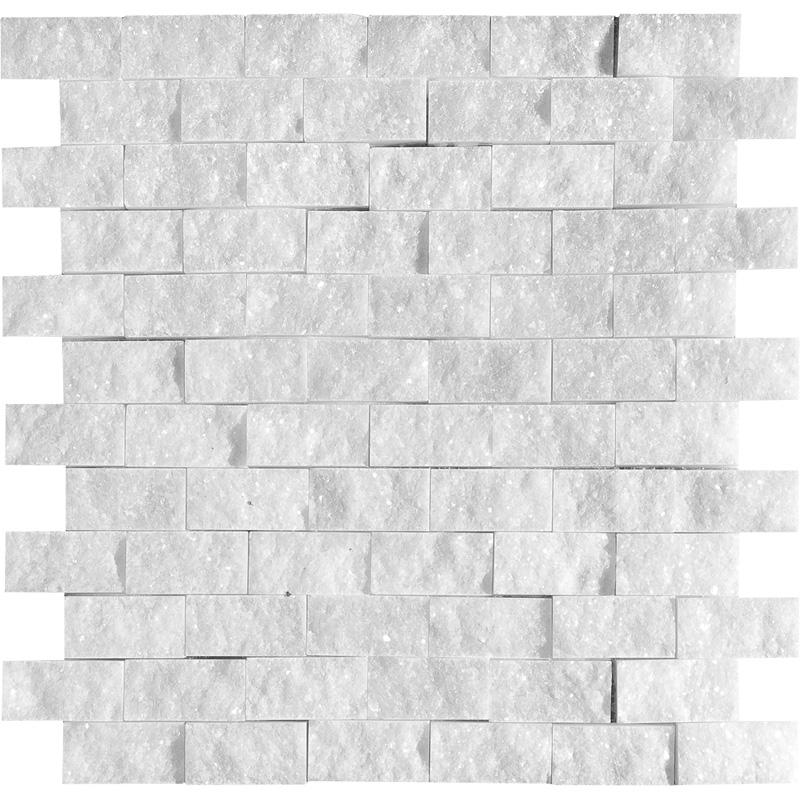 Avalon Rock Face 1×2 Marble Mosaics 32×32