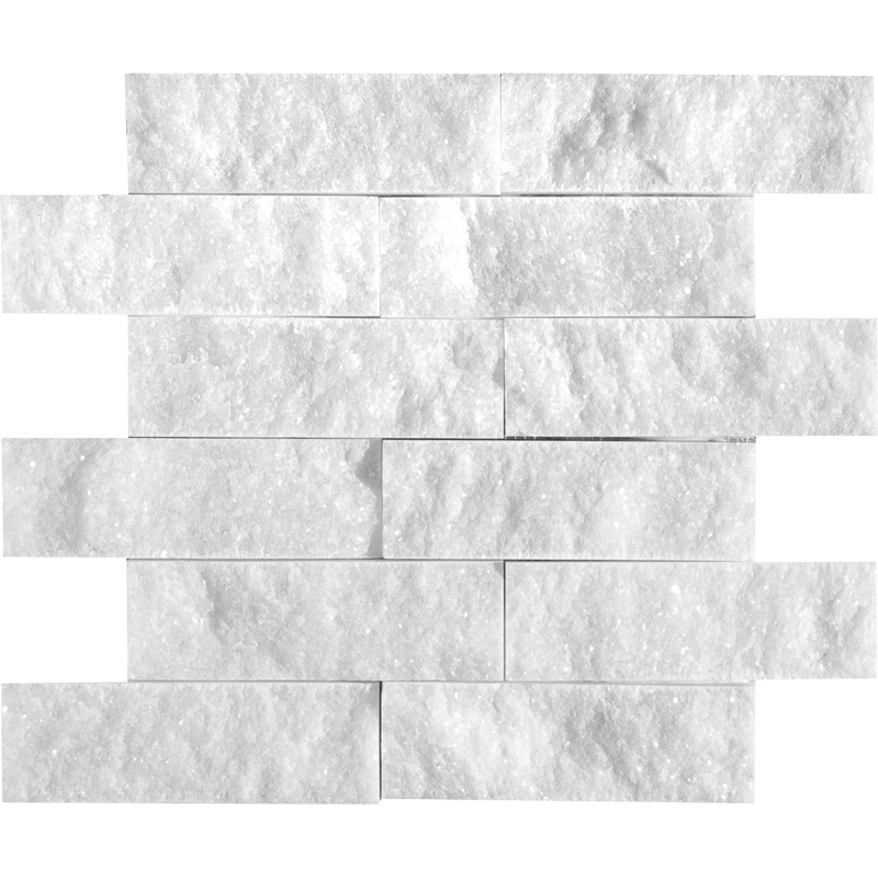 Avalon Rock Face 2×6 Marble Mosaics 30,5×30,5