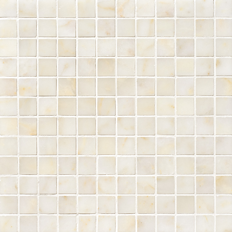 Afyon Sugar Polished 2,3×2,3 Marble Mosaics 30,5×30,5