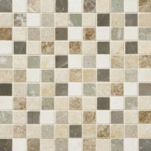 Chara Honed 2,3x2,3 Limestone Mosaics 30,5x30,5