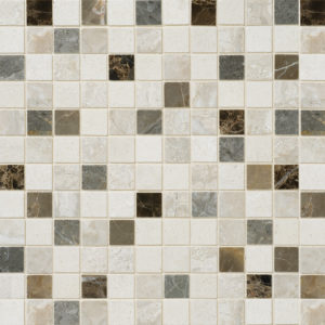 Florence Honed 2,3x2,3 Marble Mosaics 30,5x30,5