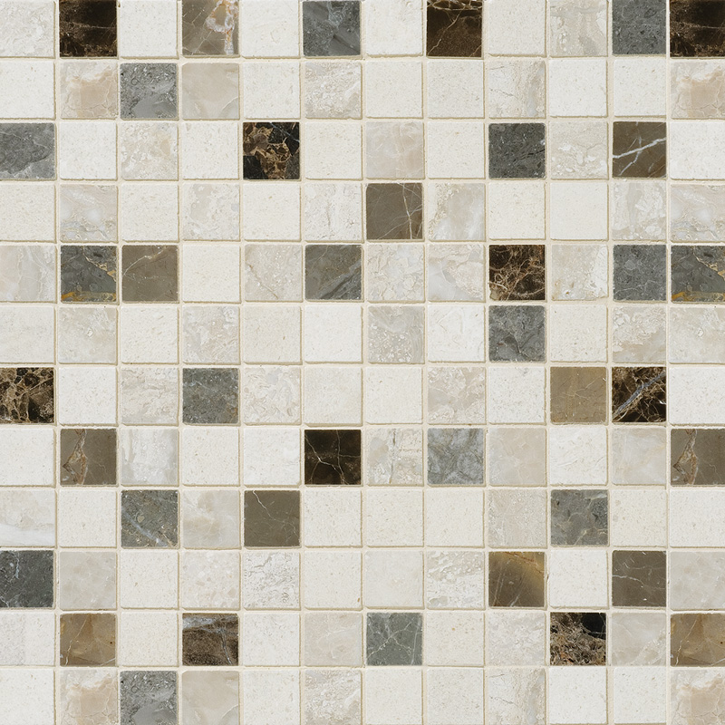 Florence Honed 30,5x30,5 1x1 Marble Mosaics