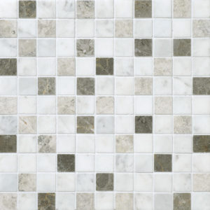 Massa Honed 2,3x2,3 Marble Mosaics 30,5x30,5
