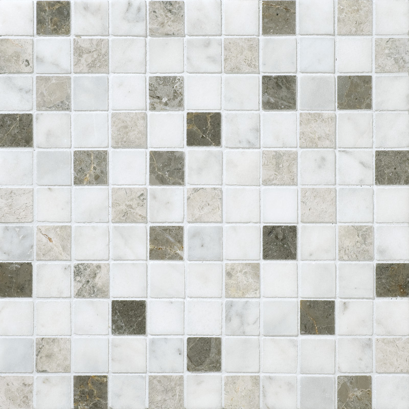 Massa Honed 30,5x30,5 1x1 Marble Mosaics