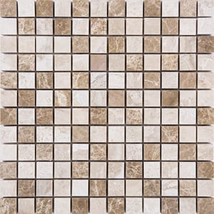 Milano Blend Polished 1x1 Marble Mosaics 30,5x30,5