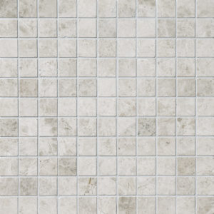 Silver Clouds Polished 2,3x2,3 Marble Mosaics 30,5x30,5