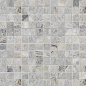 Silverado Honed&filled 2,3x2,3 Travertine Mosaics 30,5x30,5