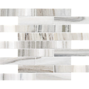Skyline Polished 1 1/4x6 Marble Mosaics 30,5x30,5