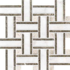 Avalon Polished Lattice Marble Mosaics 30,5x30,5