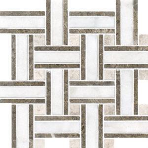 Avalon Polished Lattice Marble Mosaics 30,5x30,5