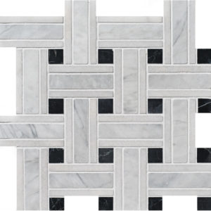 Avenza Honed Lattice Marble Mosaics 30,5x30,5