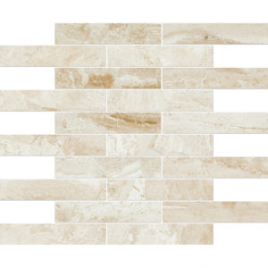 Diana Royal Polished 3x15,2 Marble Mosaics 30,5x30,5