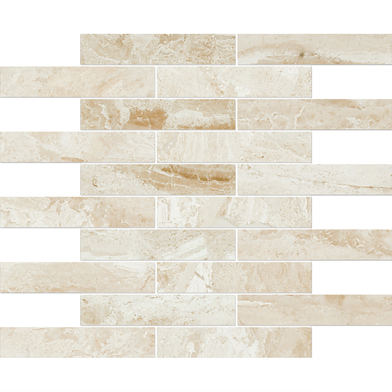 Diana Royal Polished 30,5x30,5 1 1/4x6 Marble Mosaics
