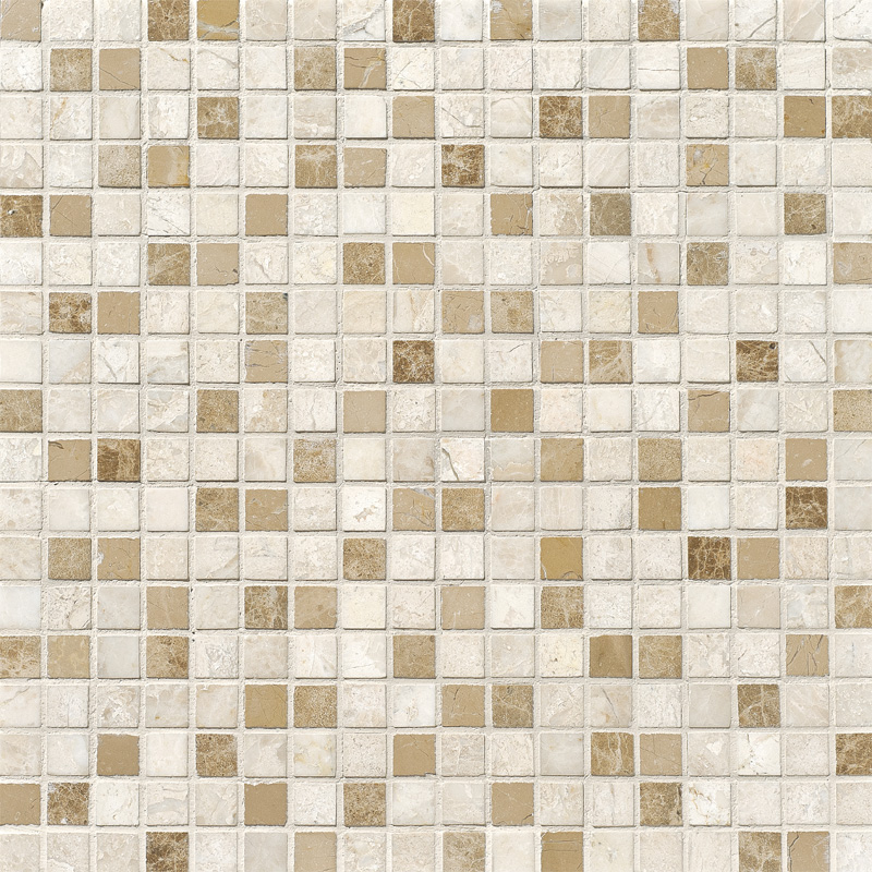Diana Royal Polished 30,5x30,5 5/8x5/8 Marble Mosaics