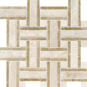 Diana Royal Polished Lattice Marble Mosaics 30,5x30,5
