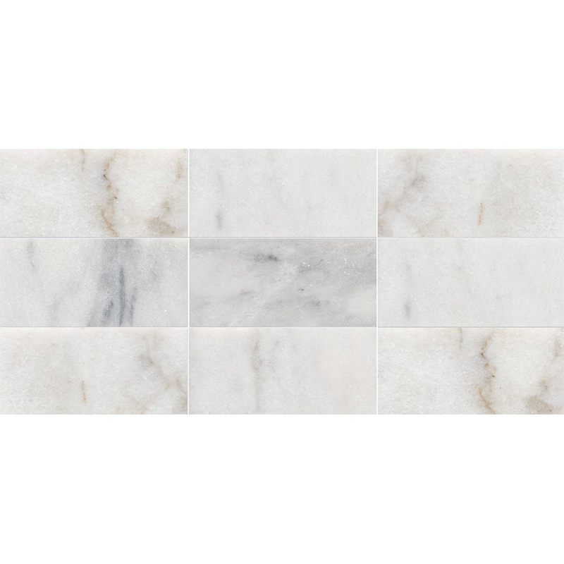 Avalon Polished 21,5x42,5 Subway On Mesh 2 3/4x5 1/2 Marble Mosaics