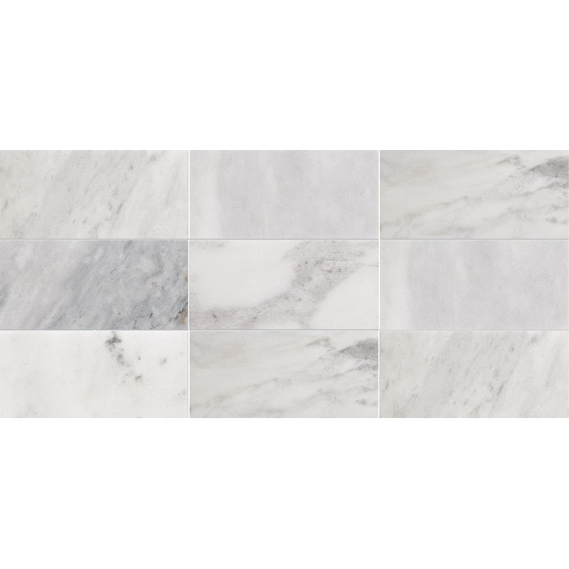 Avenza Honed 21,5x42,5 Subway On Mesh 2 3/4x5 1/2 Marble Mosaics