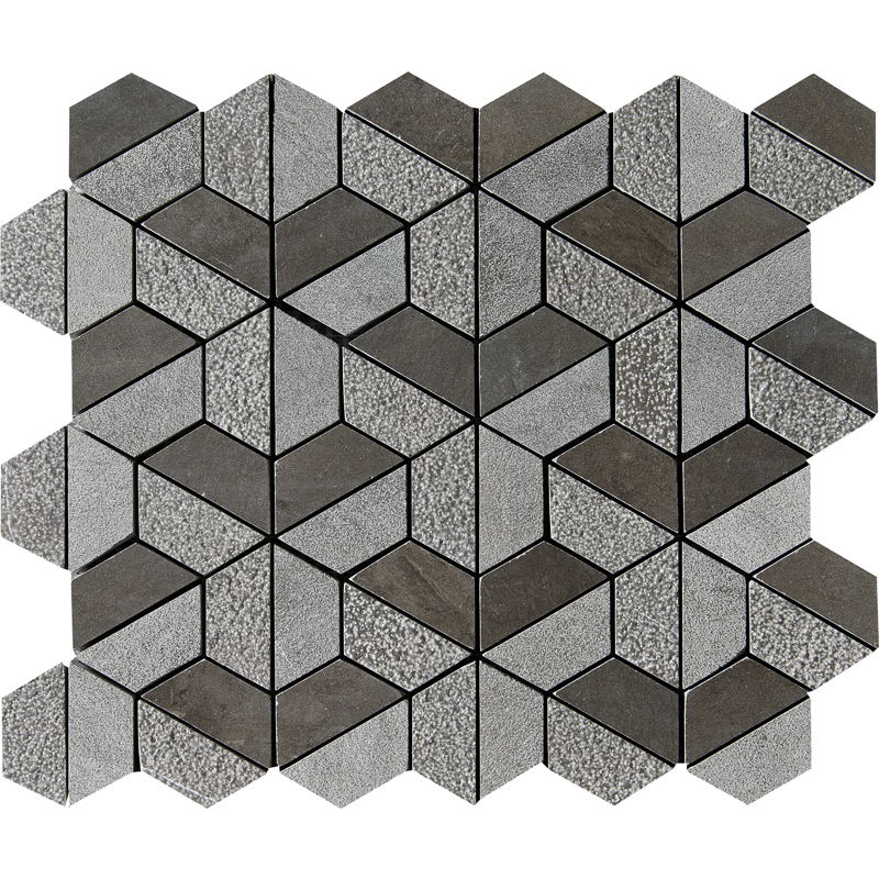 Bosphorus Textured 26,5x31 Hexagon Marble Mosaics