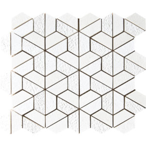 Champagne Textured Hexagon Marble Mosaics 26,5x31