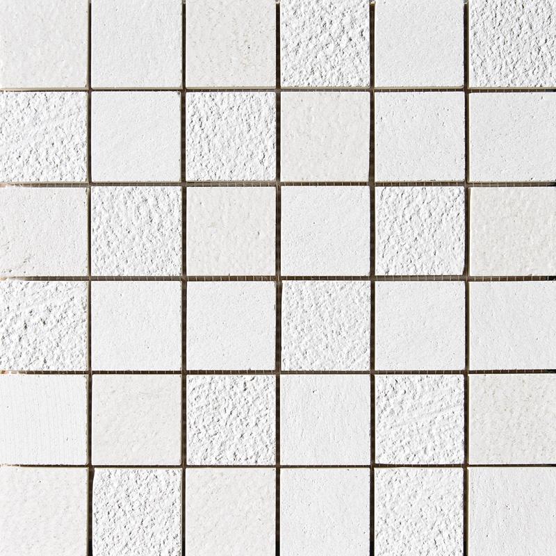 Champagne Textured 5×5 Limestone Mosaics 30,5×30,5